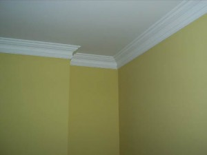 Coving in living room