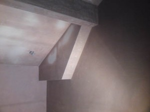 picture of plastering work
